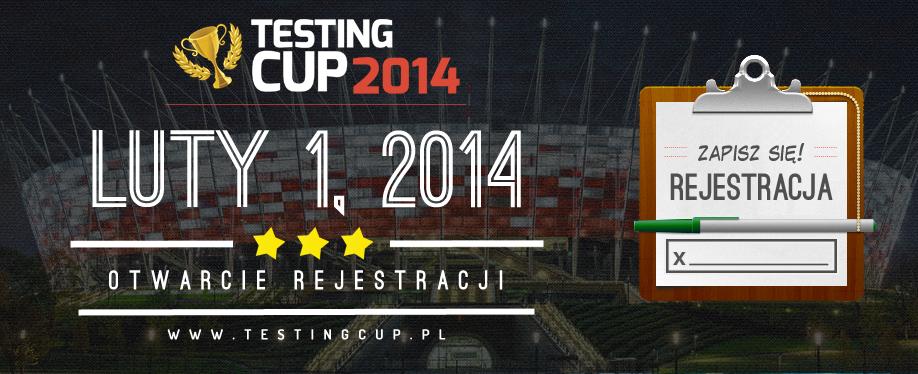 Ruszyła rejestracja na TestingCup 2014! [aktualizacja]