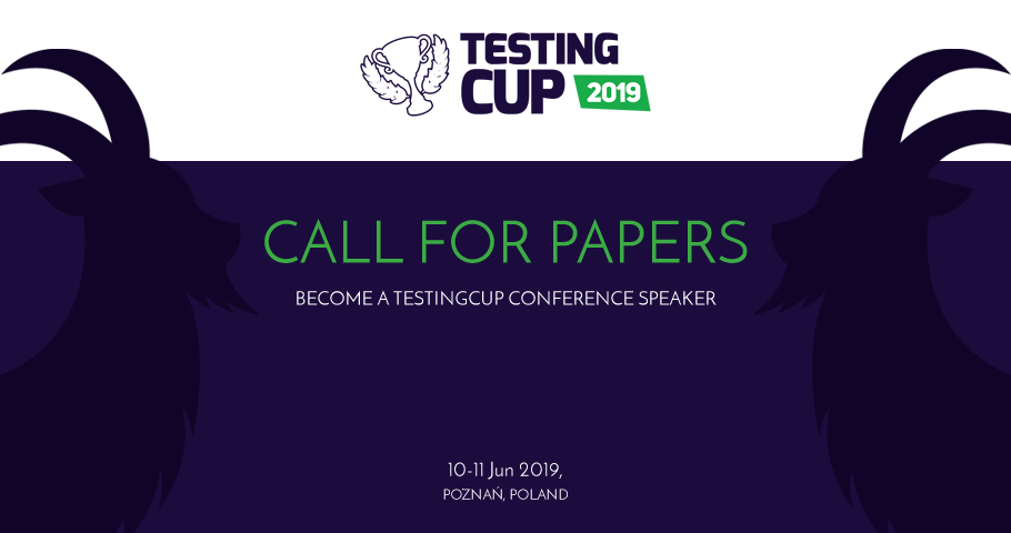 Call for Papers na TestingCup 2019