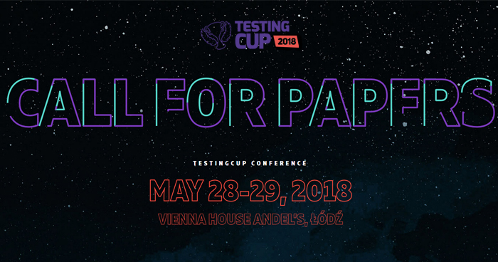 Call for Papers TestingCup 2018