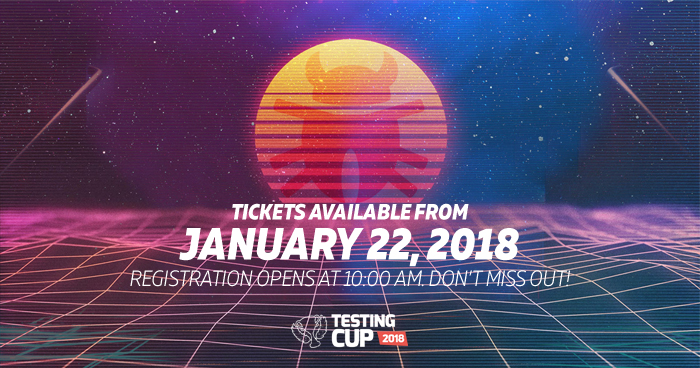 Ruszyły zapisy na TestingCup 2018! [aktualizacja]