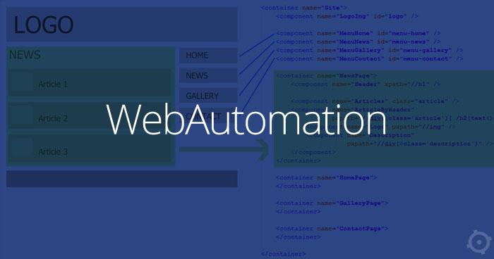 WebAutomation - framework wspierający testy w Selenium