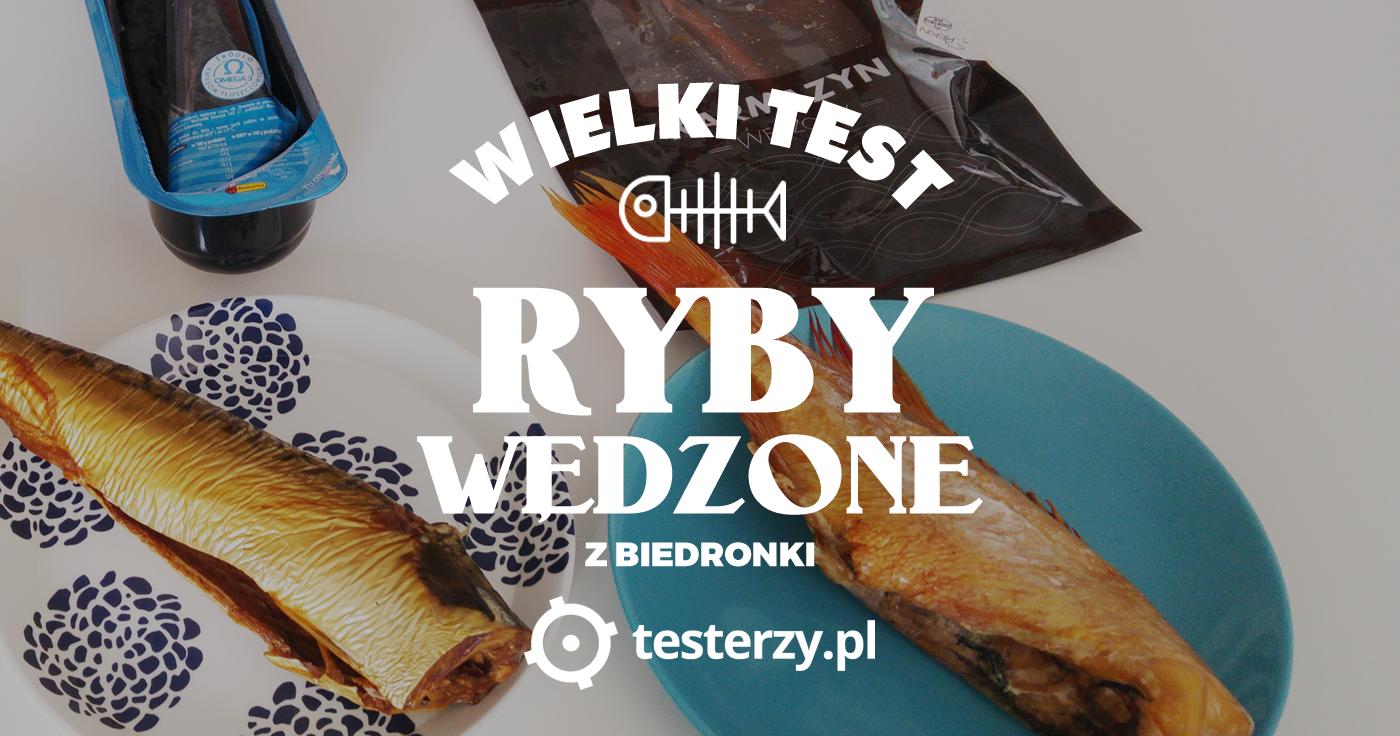 Testy ryb z Biedronki
