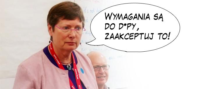 Fiona Charles: 'Wymagania są do d*py, zaakceptuj to!'