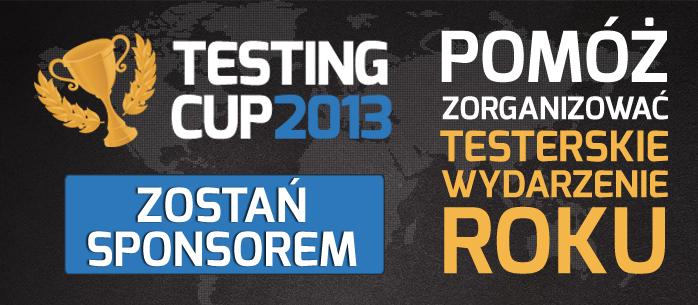 Pomóż zorganizować testerskie wydarzenie roku - zostań sponsorem Mistrzostw w Testowaniu Oprogramowania.