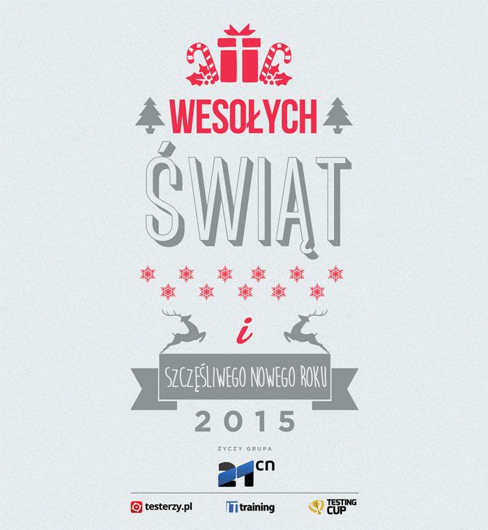 Wesołych Świąt od Zespołu testerzy.pl