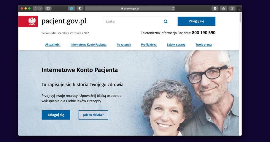 Co jest nie tak z pacjent.gov.pl?