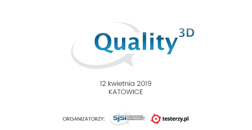 Quality 3D Meetup SJSI - Edycja Śląska!