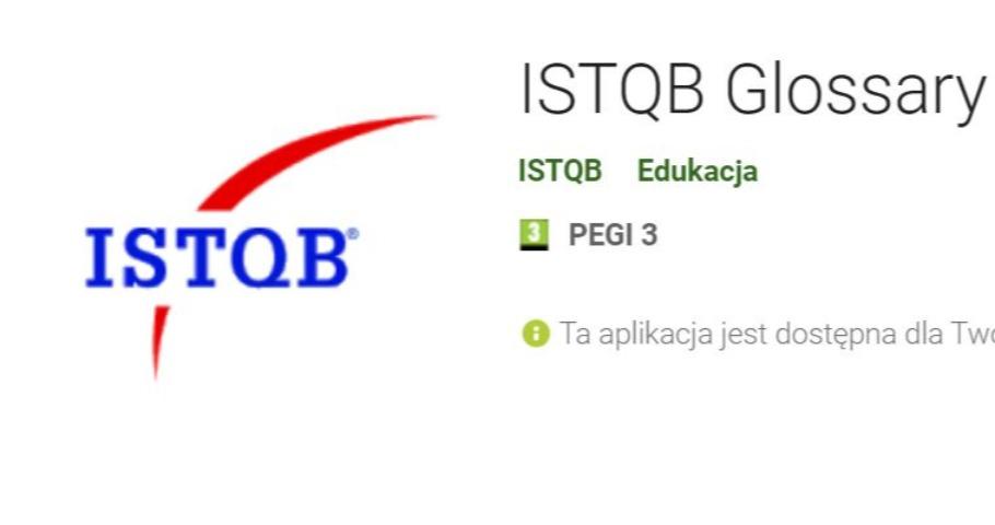 Mobilny słownik ISTQB®