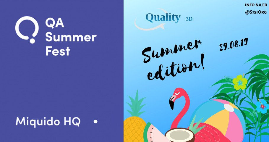 Quality + Summer = Meetup