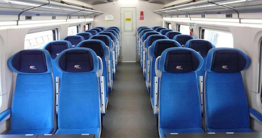 System sprzedaży miejsc w pociągu dostępny!