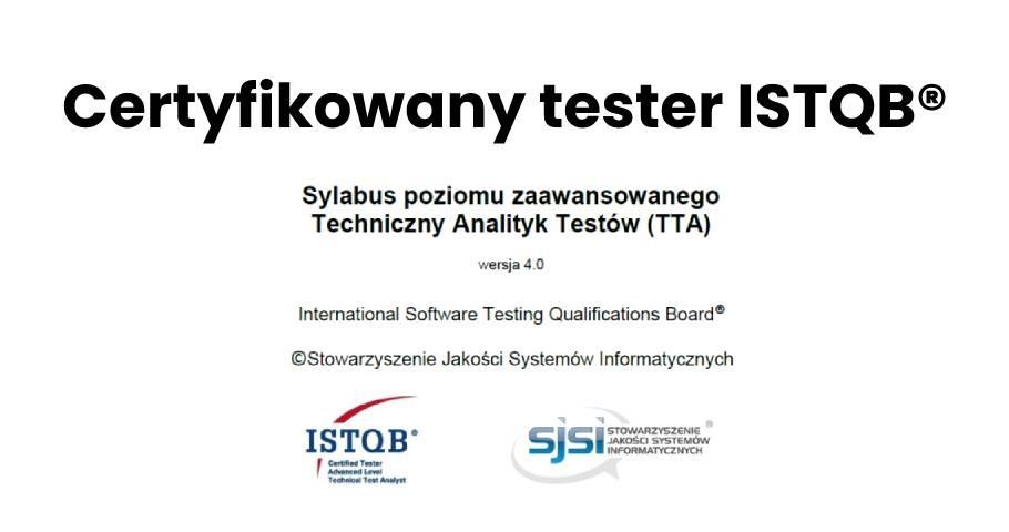 Tłumaczenie sylabusa ISTQB® Techniczny Analityk Testów – Poziom Zaawansowany już dostępne