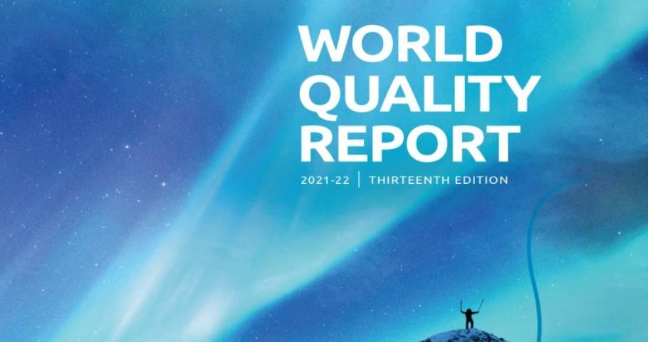 World Quality Report 2021-22. Opublikowany